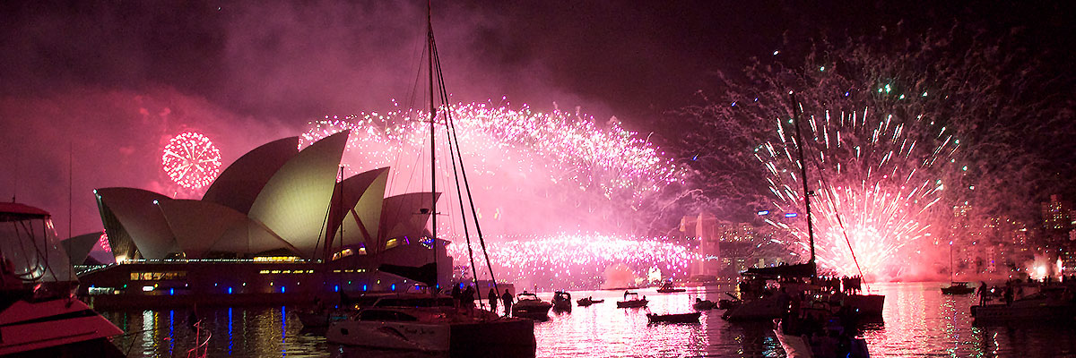 Yacht Hire or Yacht Charter New Years Eve
