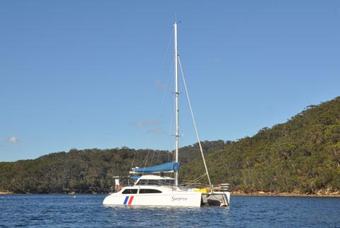 Chartering a catamaran