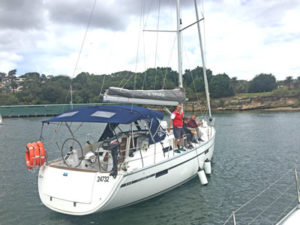 Bareboat Charter with Training