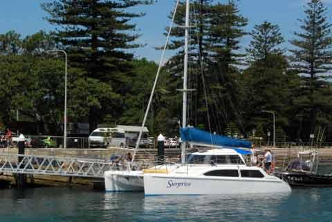 Prepare to charter a catamaran